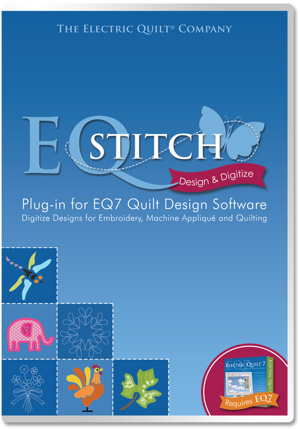 EQStitch Embroidery Design Software | Products | The Electric ... : electric quilt company - Adamdwight.com