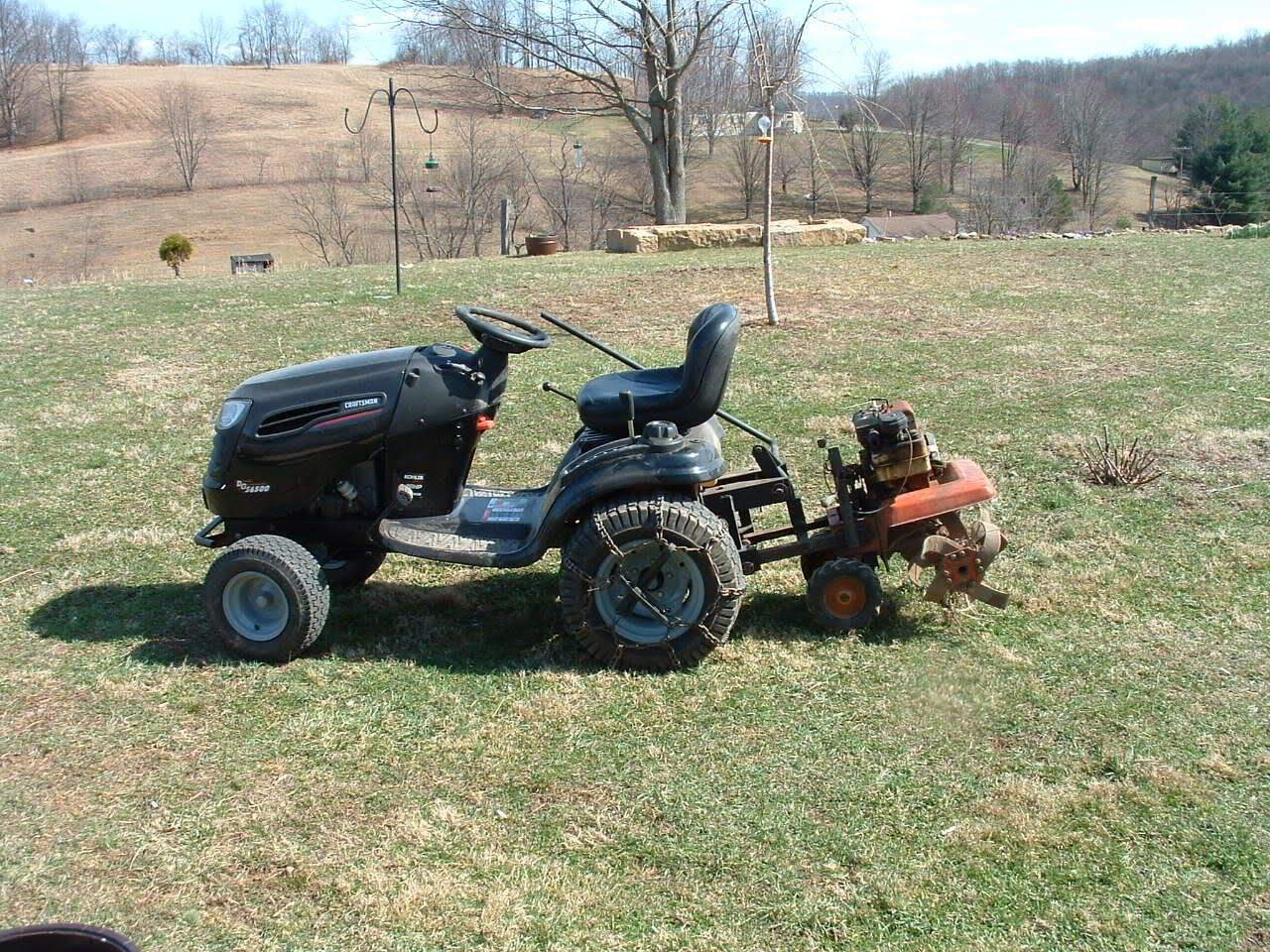 Homemade Lawn Garden Tractor Attachments Tillers Gardentiller