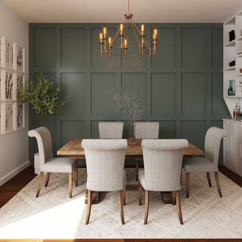 Farmhouse dining room design by katie dining room