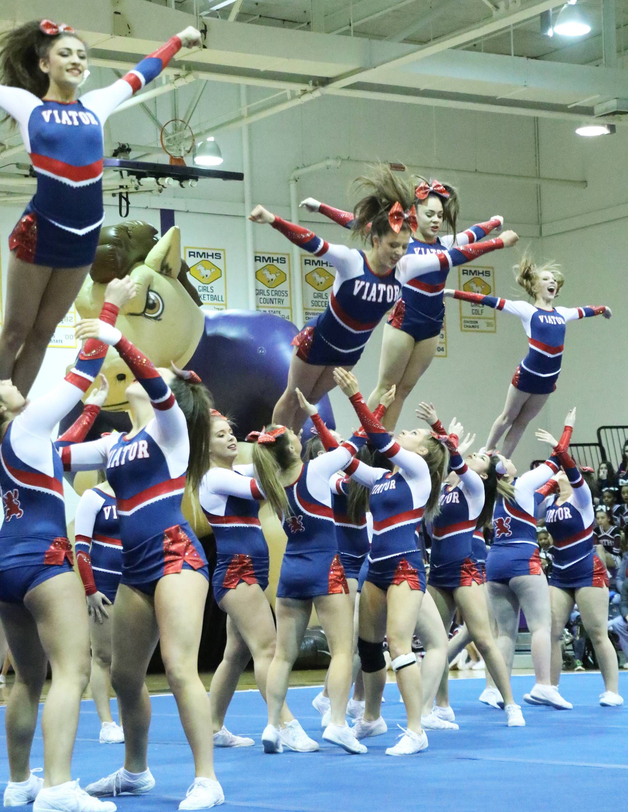 Images Ihsa Cheer Sectional Rolling Meadows Rolling Meadows Cheerleading Squad Cheerleading