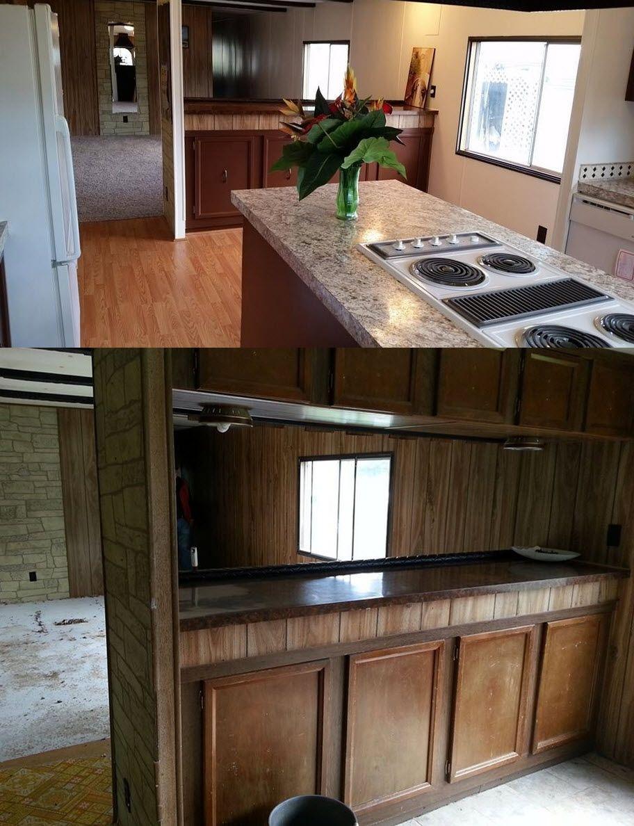 Mobile home interior ideas single wide mobile home kitchen remodel ideas  mobile home