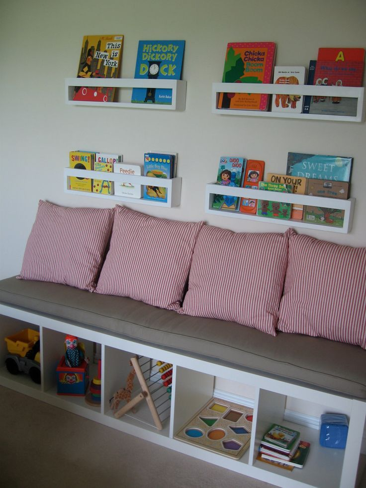 Ikea Kallax Custom Cushion for Nursery , Playroom , Organization Bench Cushion, Mudrooom Cushion