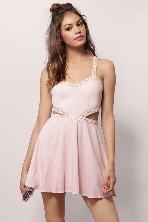 Flirty Sherry Skater Dress