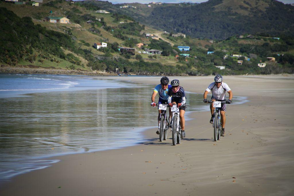 Travel to Umngazi to ride the Pondo Pedal mountain bike