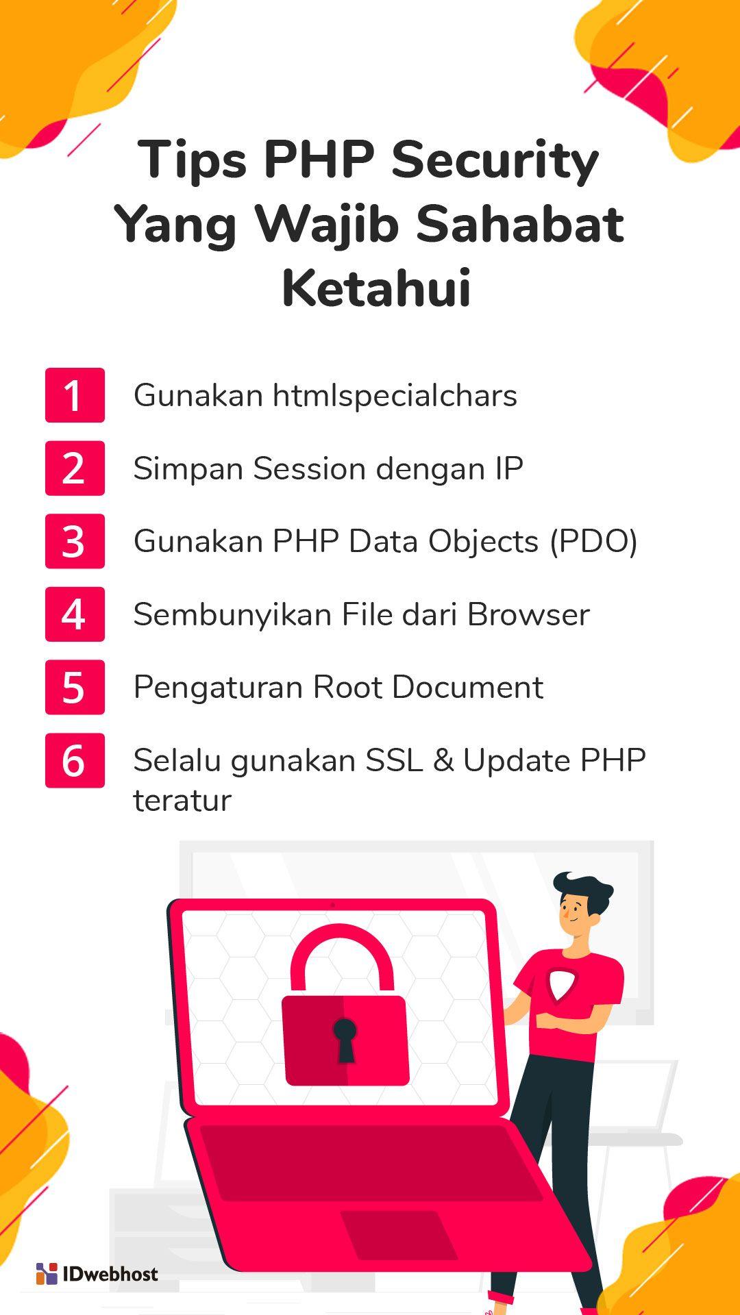 Tips Php Security Yang Wajib Sahabat Ketahui Php Tips Pemrograman