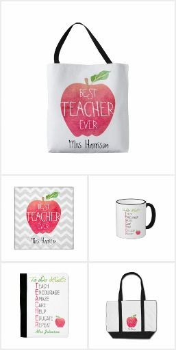 Teacher Gift Ideas. Personalized unique gifts for great teachers. End of the year gifts, Teacher appreciate gift ideas.