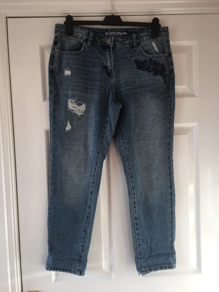 Size 12 NEW RRP £35 Girls Trousers with  Stretch Next Black Ladies