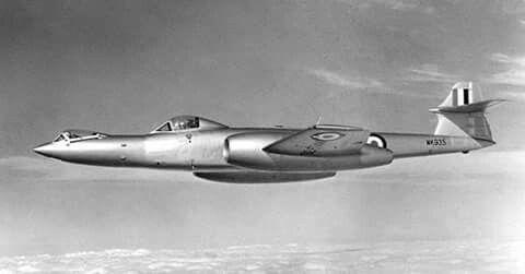 Meteor F-8 Prone Pilot