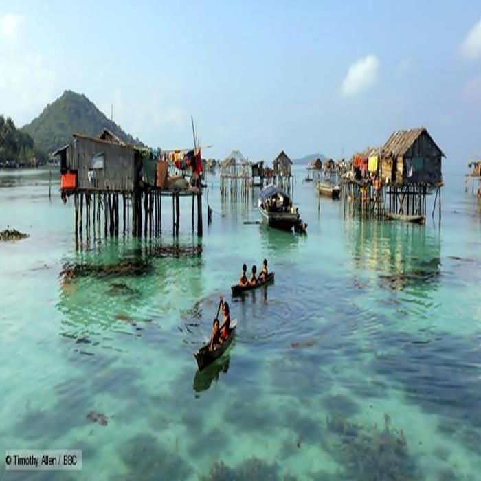 Bajau people of Malaysia live at sea