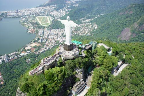 Christ The Redeemer Parque Nacional Da Tijuca Alto Da Boa Vista
