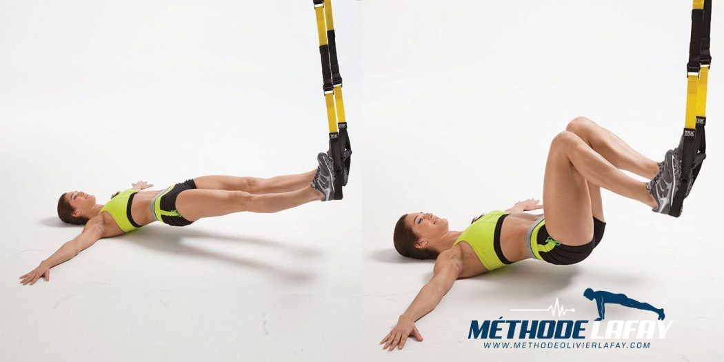 7 Exercices TRX pour supprimer les rondeurs   Méthode ...