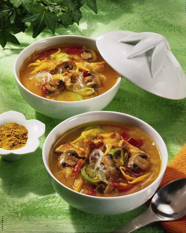 Photo of Asian Soup with Glass Noodles Recipe | DELICIOUS