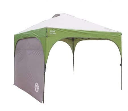 Coleman Instant Canopy Sunwall Accessory Only 10 Foot X 10 Foot Shade Tent Instant Canopy Sun Shade Tent