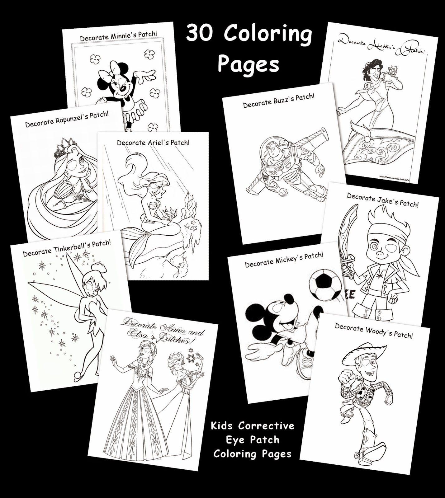 Eye Patch Activities The Patty Cake Free Printable Coloring Pages Toddler Patching