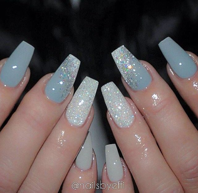 Coffin acrylic nails are very trendy despite their name. In fact, the  coffin-shaped nails are popular due to the number of reasons. - Pin By Zoey Hallam On Nails Pinterest Nail Nail, Nail Inspo And