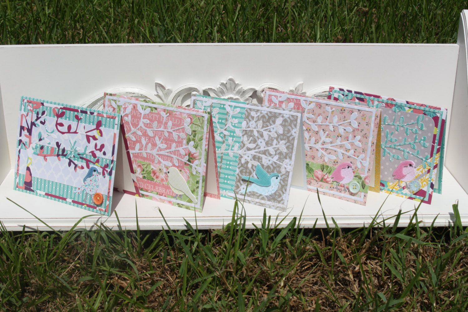 A Little Birdie Told Me Card Pack #2 by CardsbyKoontz on Etsy