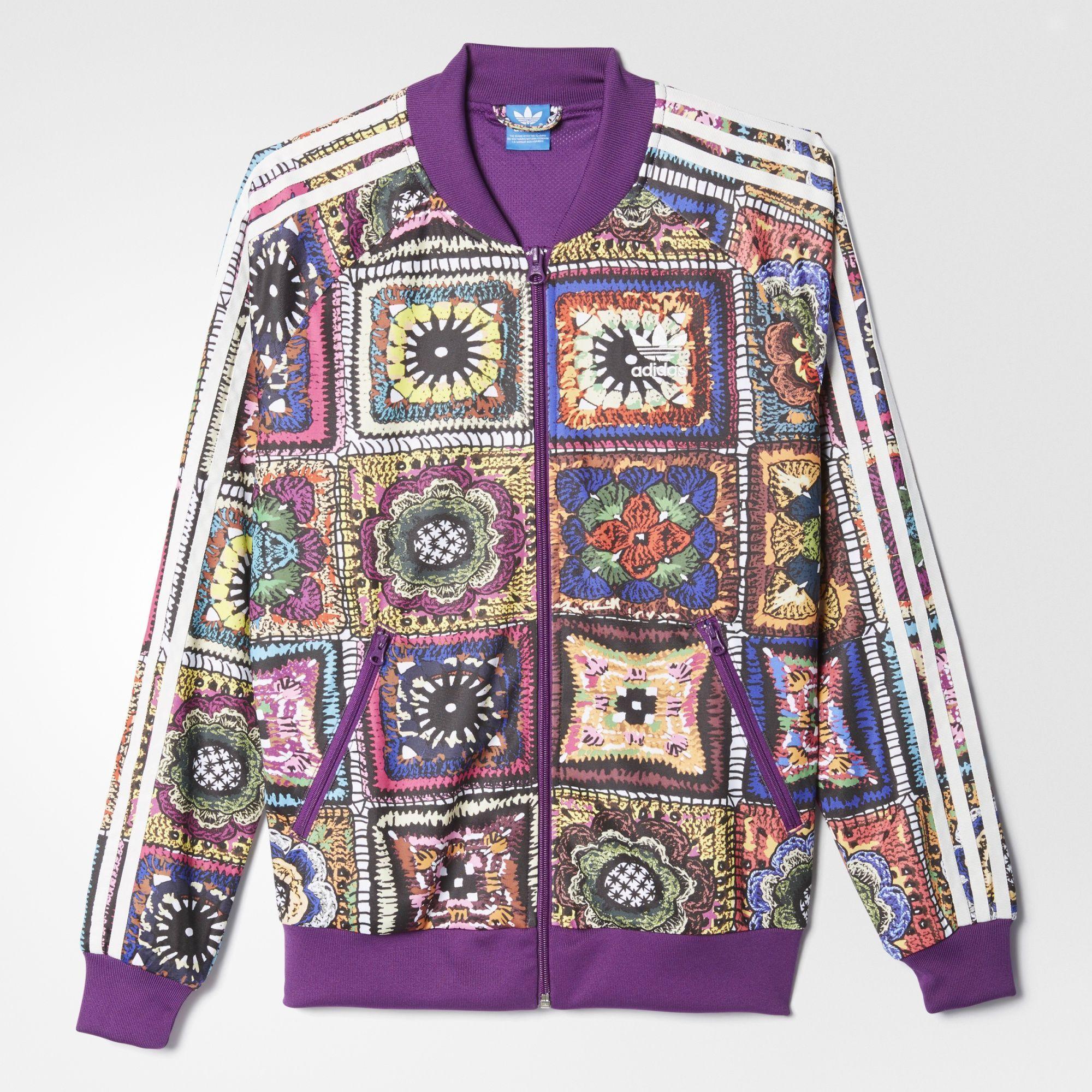 mayor descuento primer nivel rico y magnífico adidas - Crochita SST Track Jacket   Clothes design, Activewear ...