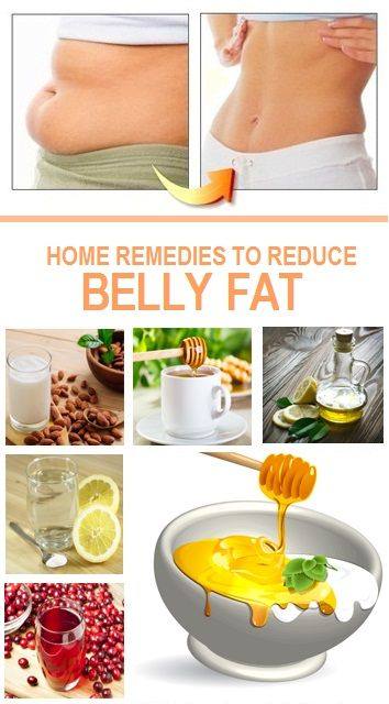 Natural remedies for belly fat loss