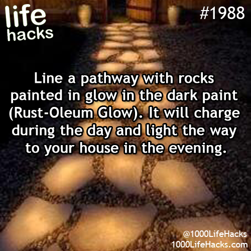 Photo 1000 life hacks life hacks 1000 life hacks and rust - Rust oleum glow in the dark paint exterior collection ...