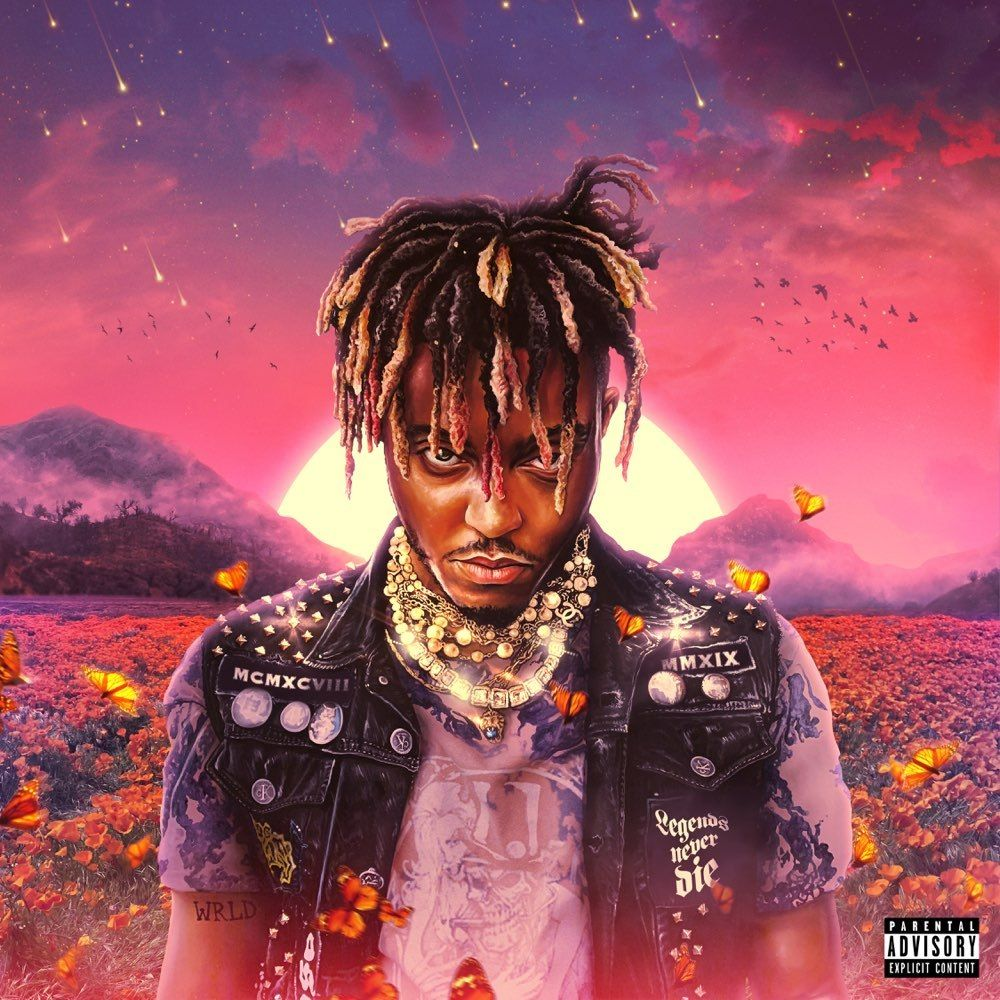 Juice WRLD 'Legends Never Die Album' Cover