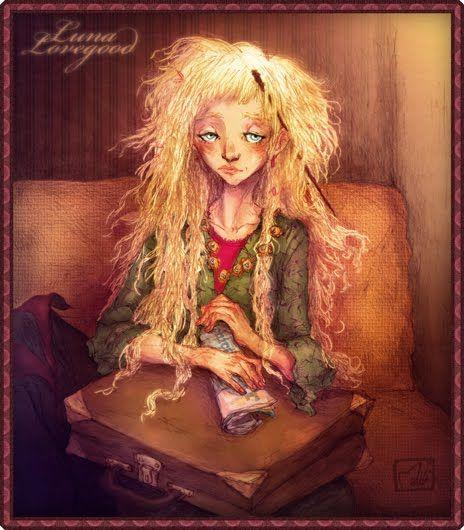 Luna Lovegood illustration by la-maiii in Harry Potter Fan Artworks