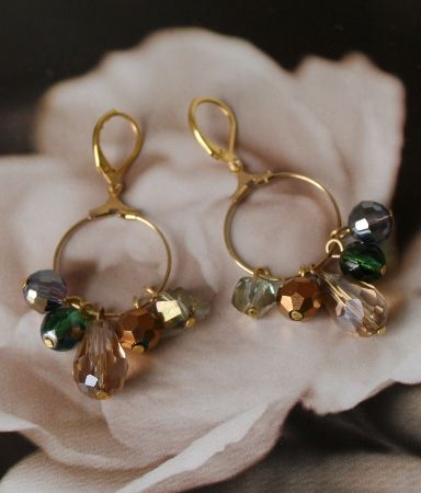 New! Earrings Expression O03