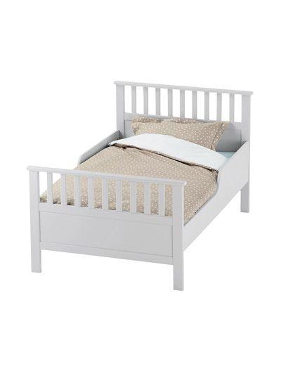 Mitwachsendes kinderbett 39 klassik 39 blau gr n wei kids kid beds bed und room for Mitwachsendes kinderbett