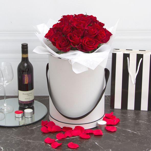 valentine's day fresh flower hat boxes blog | be my valentine, Ideas