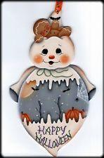 """Hp Fantasma con Pan de Jengibre """"Happy Halloween"""" colgante de pared"""