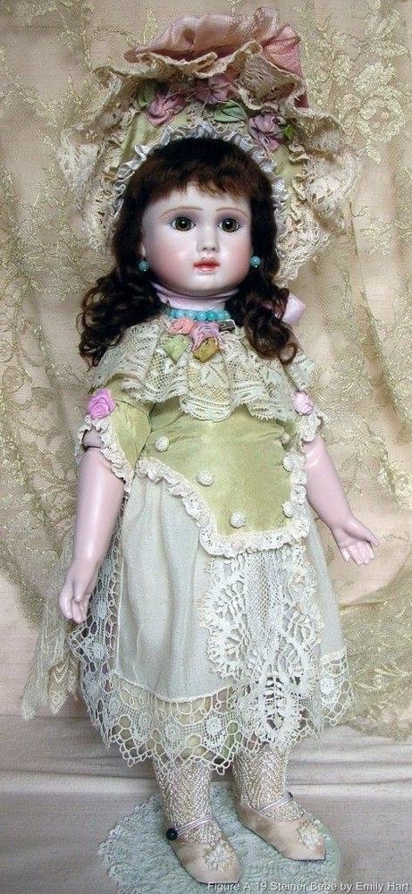u s 1799 99 finished doll in pure silks and antique laces costume rh pinterest com