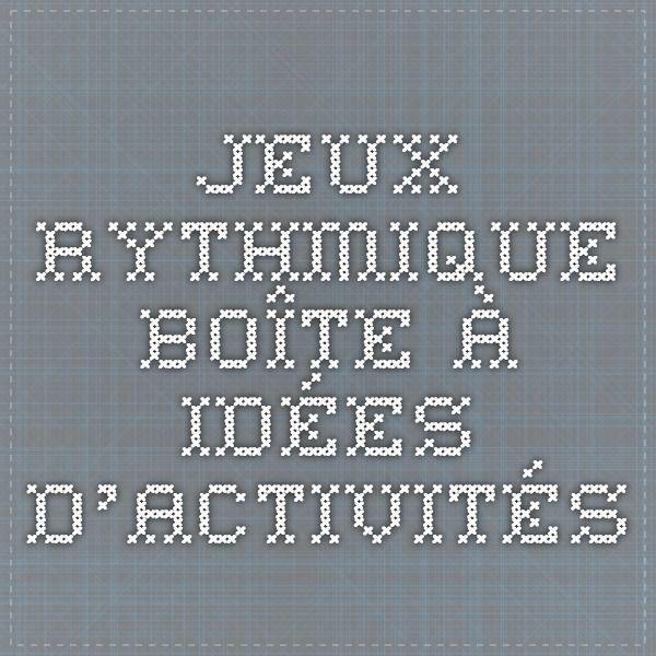 Jeux Musicaux Pour Samuser En Rythme Musique Music Lessons