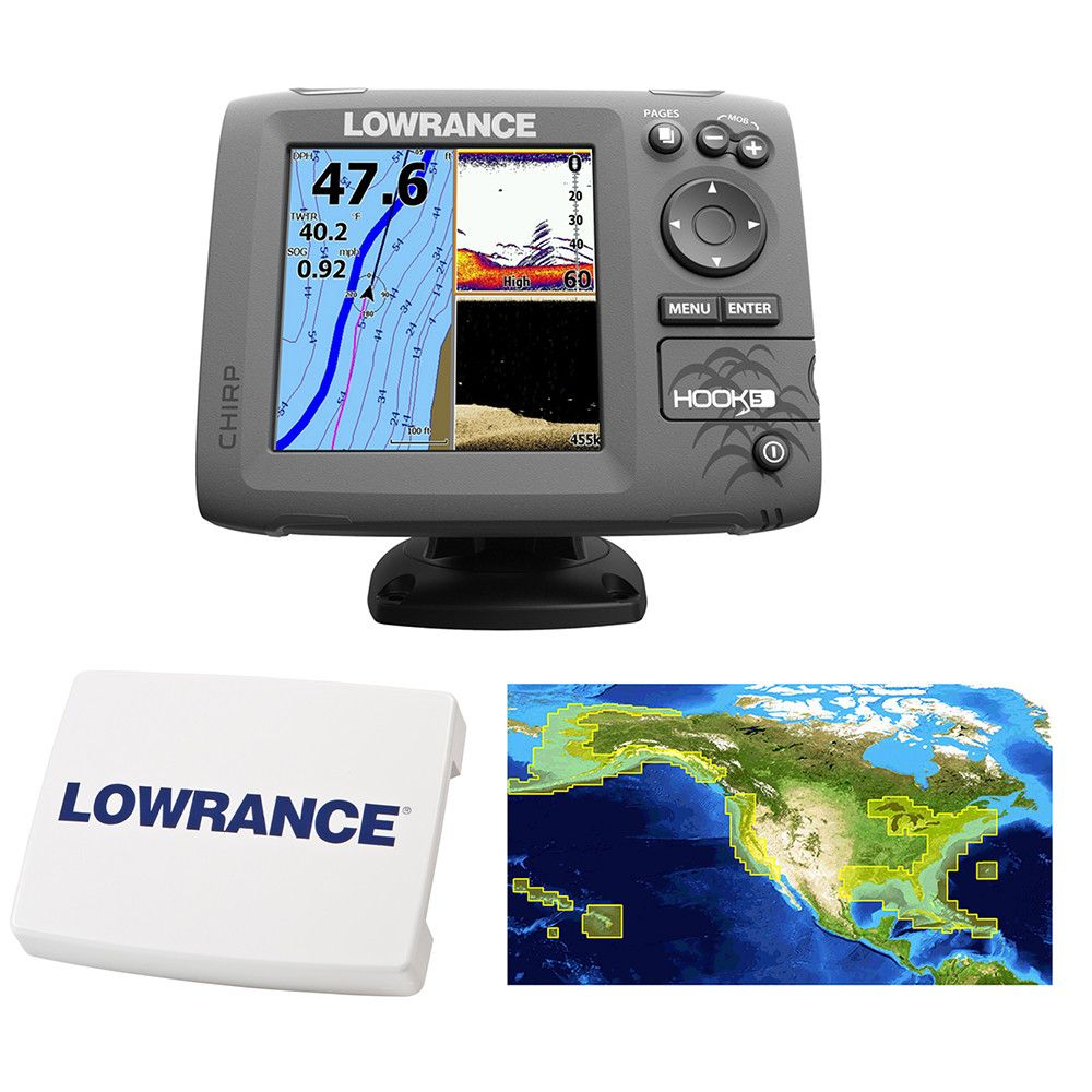 Lowrance HOOK5 C... is now available at Outdoorsman USA