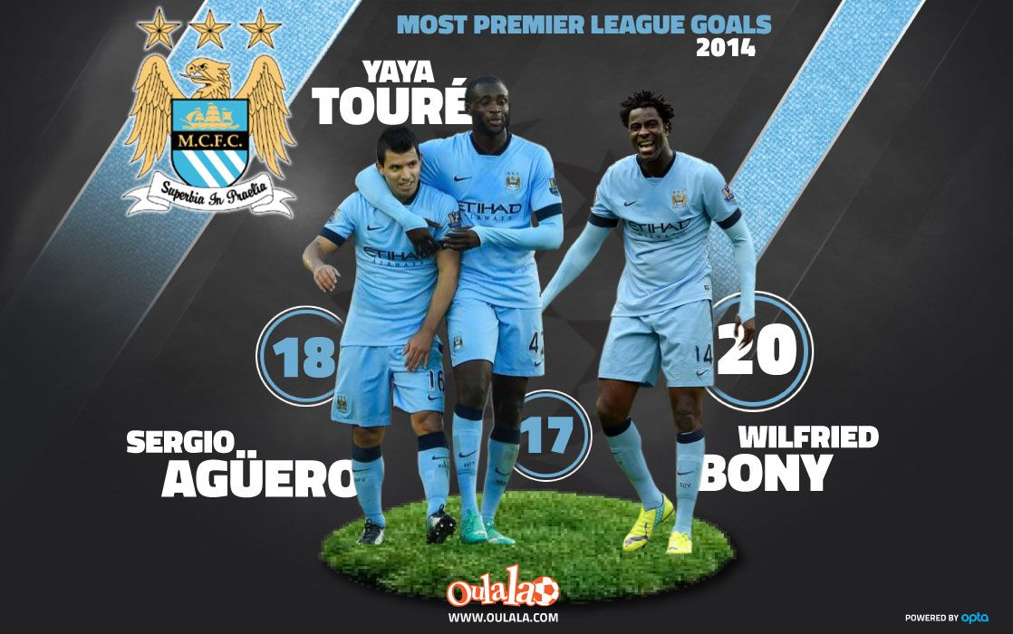 Wilfried Bony has signed for Manchester City from Swansea