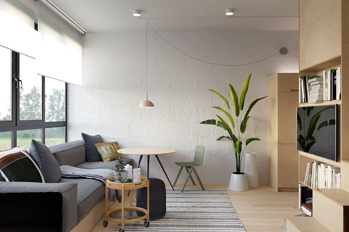3 Tiny Interiors With Space Saving Adult Loft Beds Loft