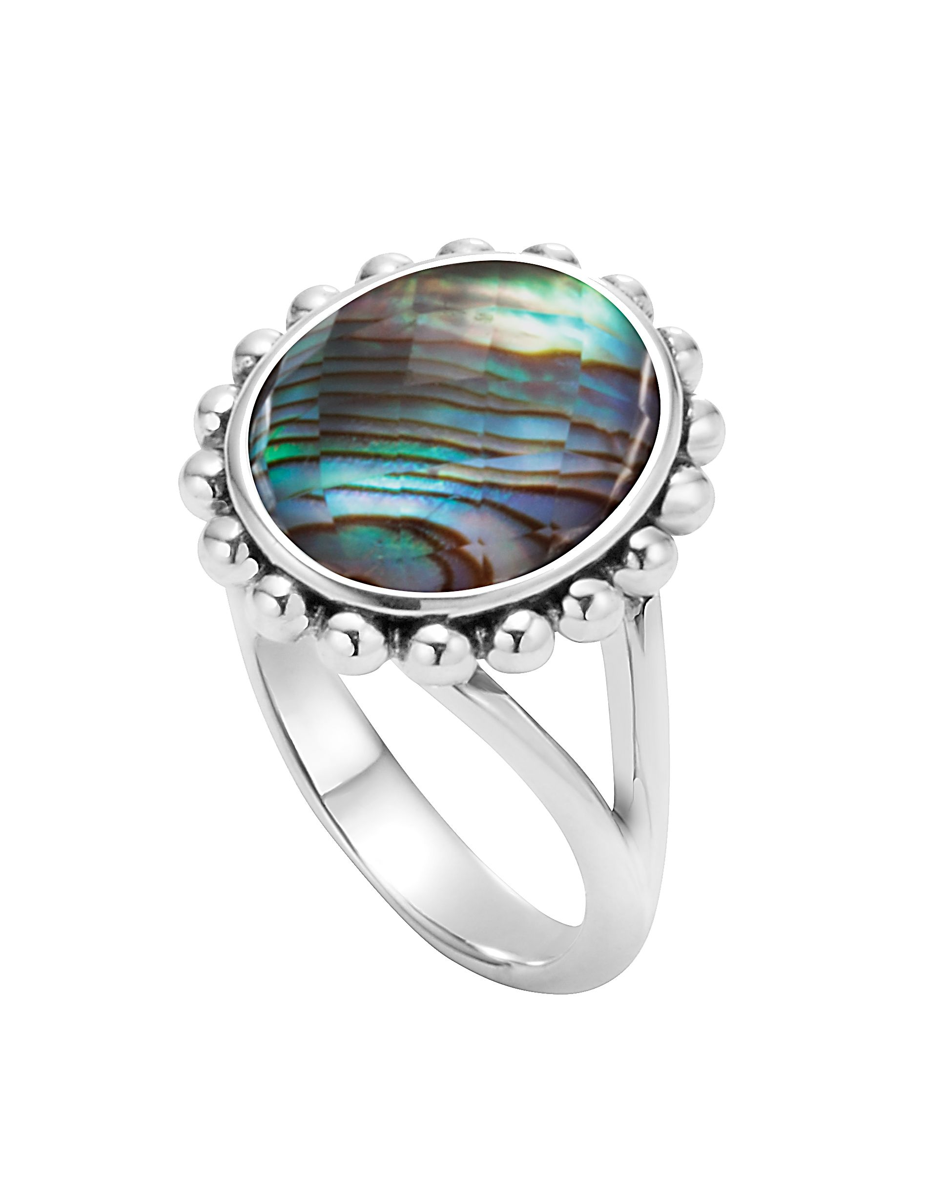 east sterling shaped ring product abalone rings bronze cushion west silver engagement