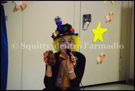 Mi sono vestita da clown!