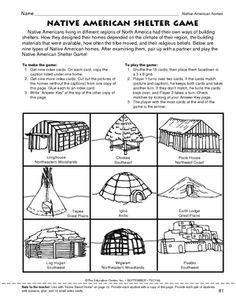 Native American Regions Worksheet Google Search Native American