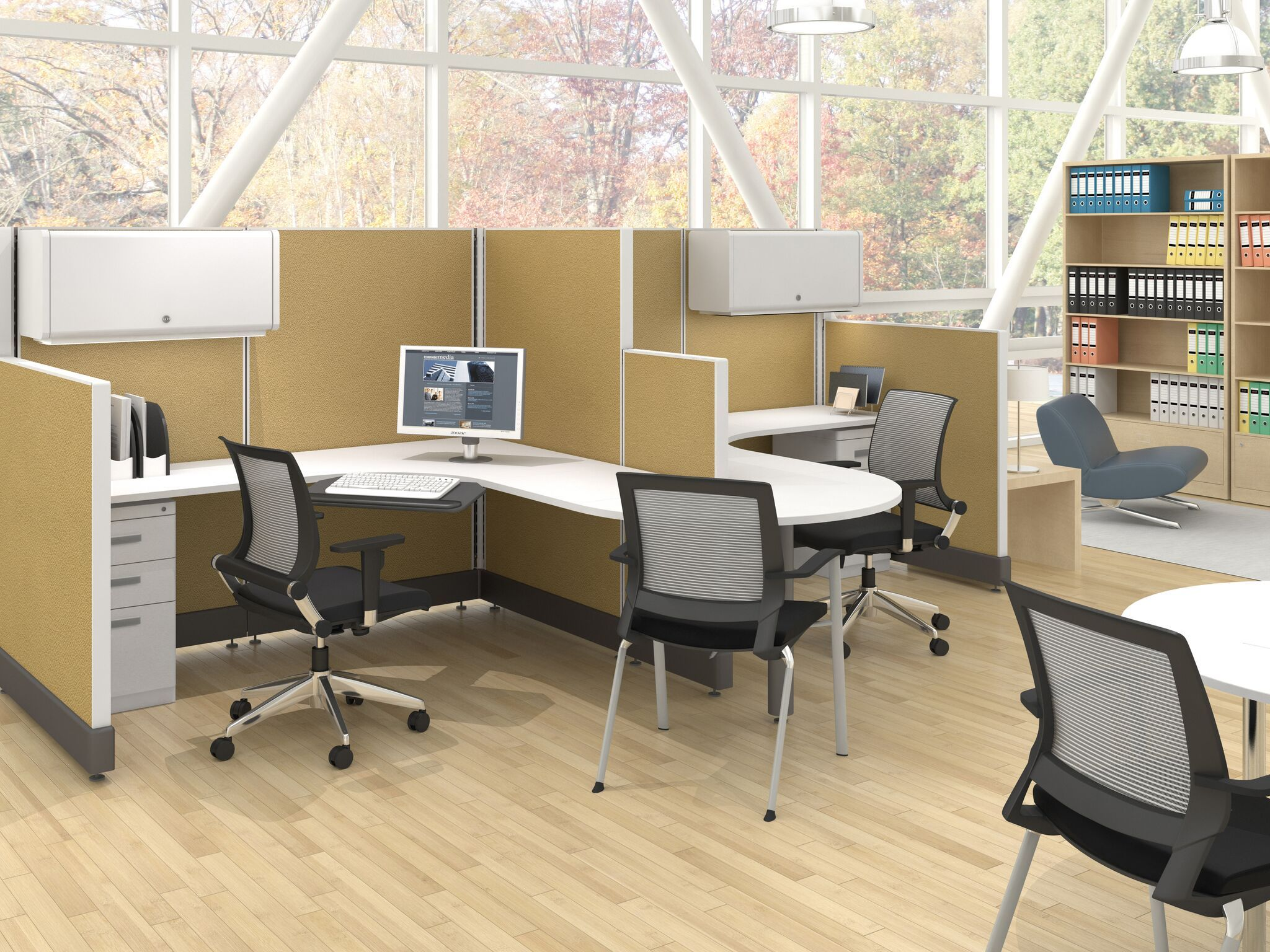 Our Open Workstation Systems Are Exceptionally Easy To