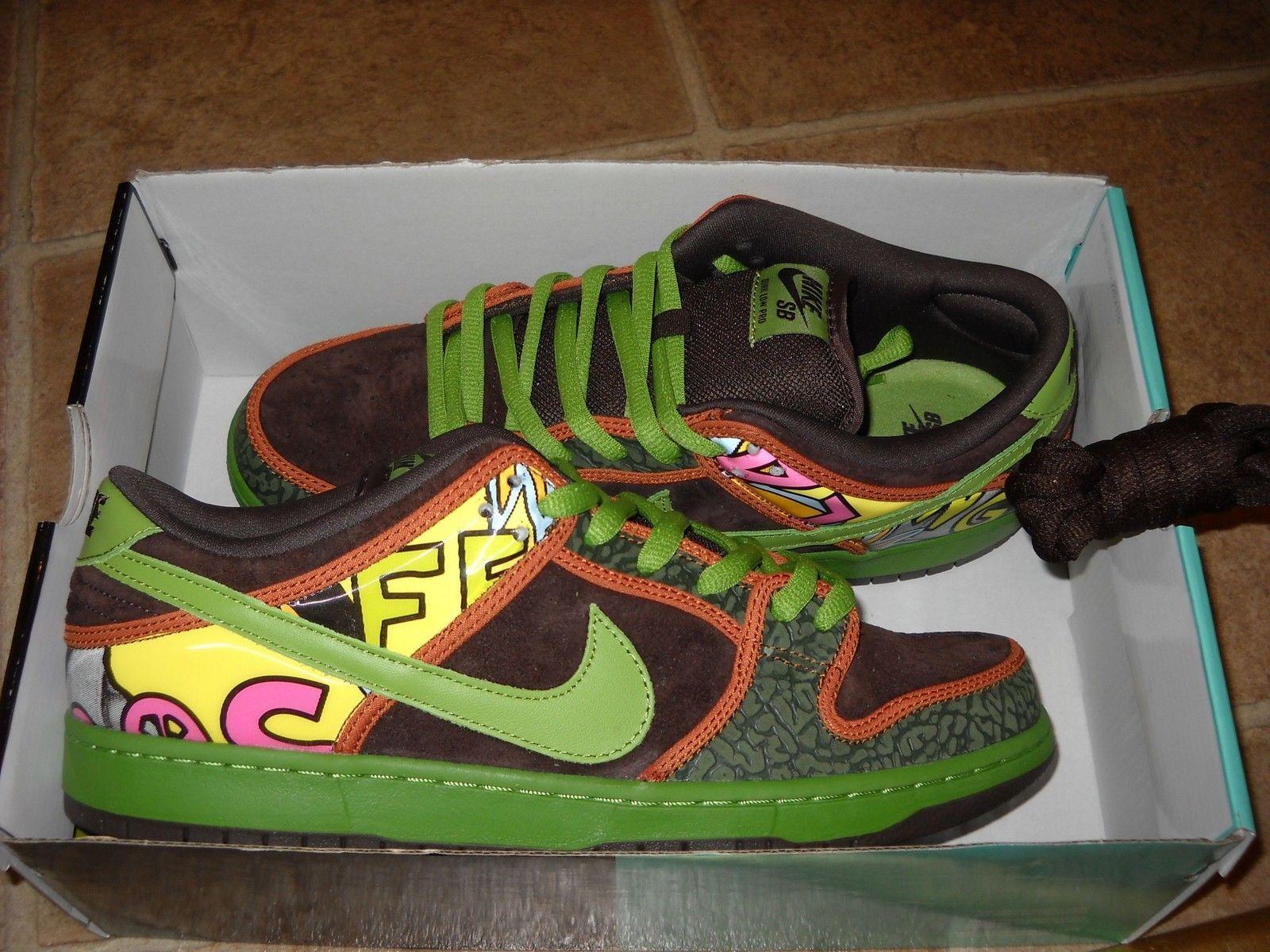 sports shoes 3a089 d78a3 Nike SB Dunk Low PRM Premium DLS SB QS De La Soul (789841 332) Men s Sz.  10.5