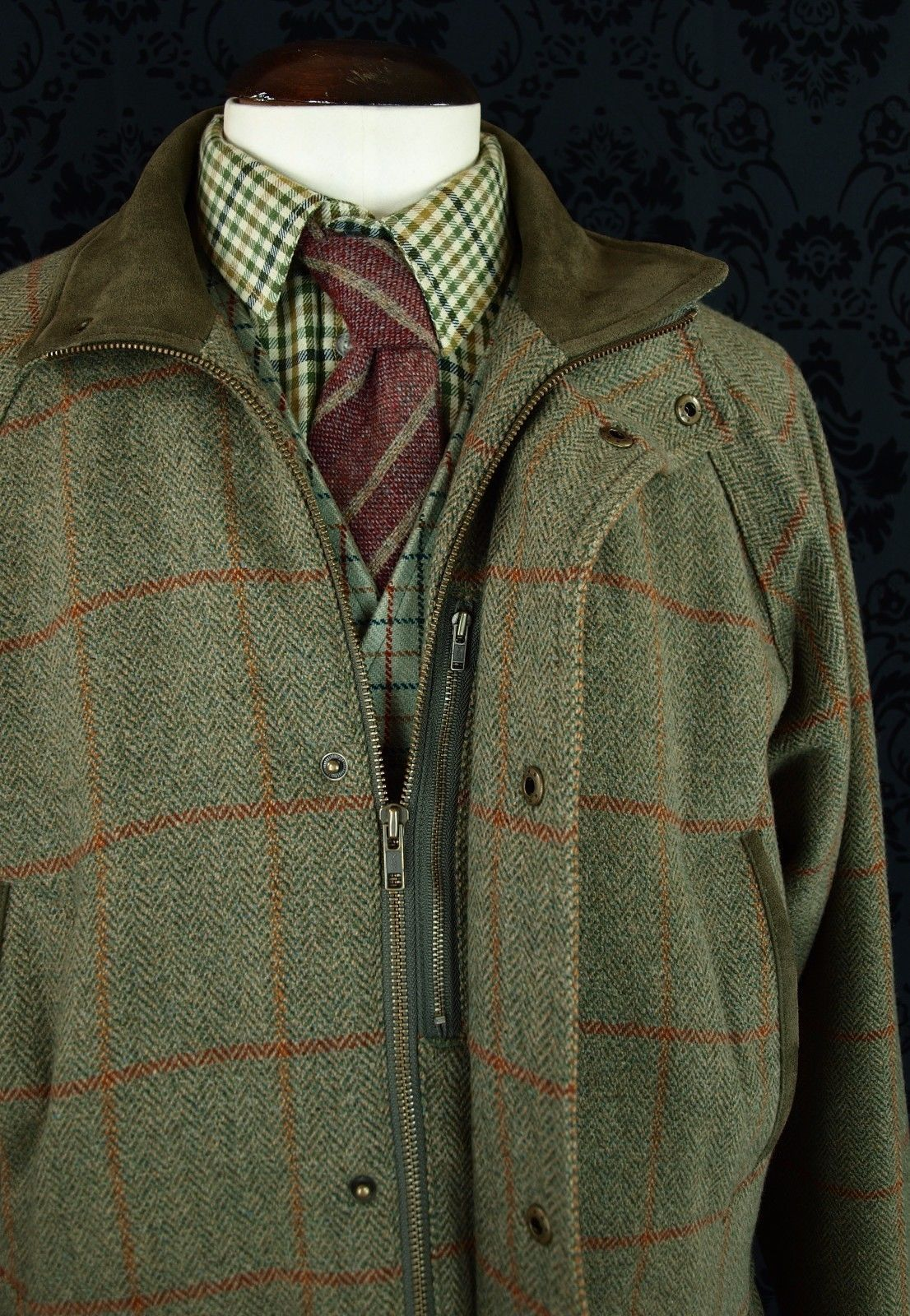 154733c162ebf SUPERB MENS TOGGI REID & TAYLOR TWEED SHOOTING HUNTING FIELD COUNTRY COAT L  / XL