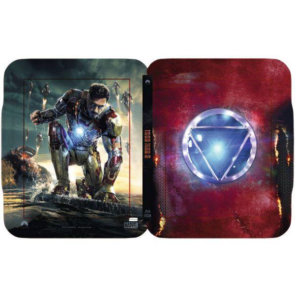ironman 3 blu ray collectors can  | Iron Man 3 - Zavvi Exclusive Limited Edition Steelbook Blu-ray | Zavvi ...
