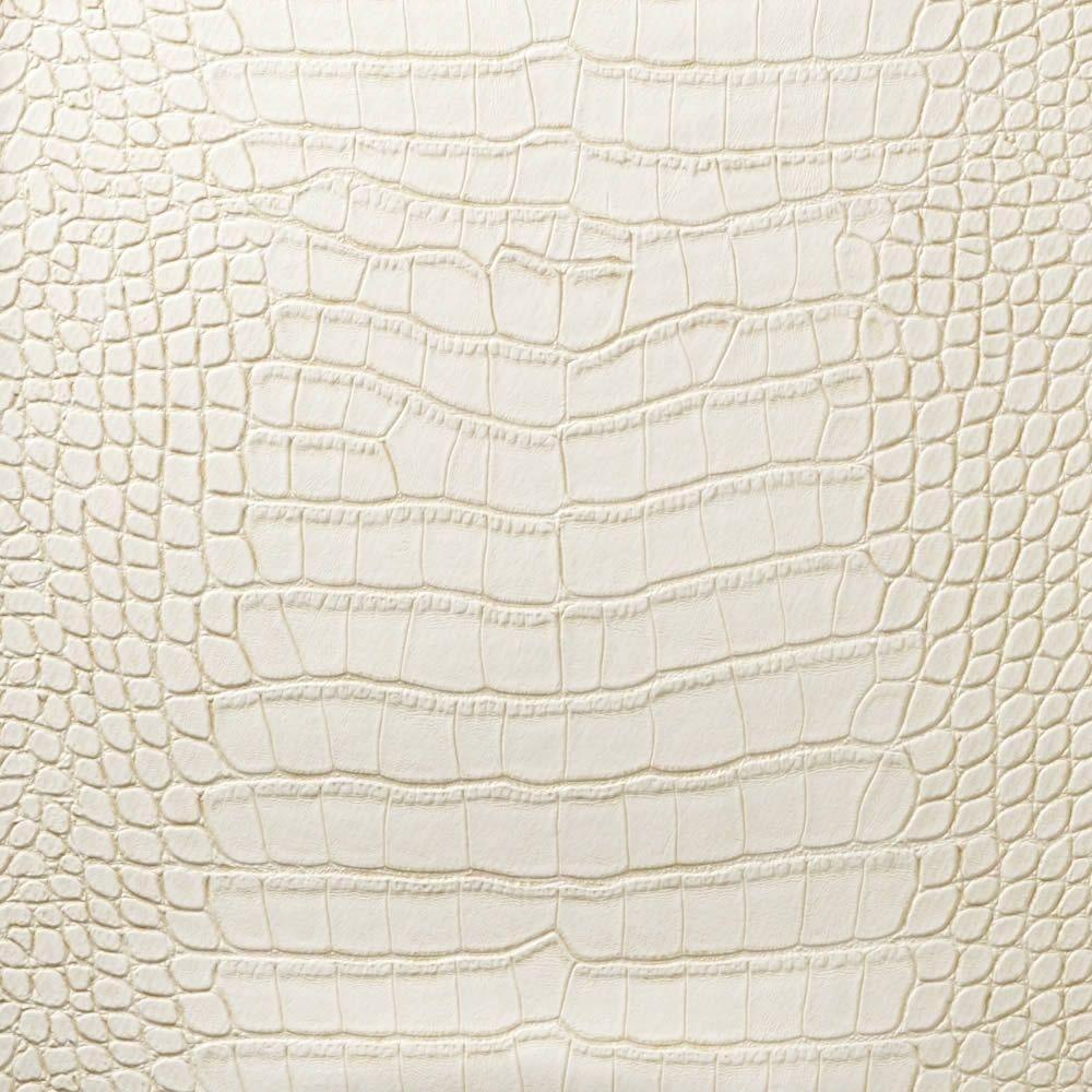 Le embossed croc white cream lec 5006 designer walls for Cream wallpaper for walls