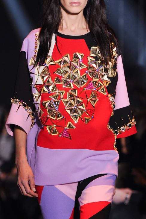 Fausto Puglisi Fall 2014 Ready-to-Wear Detail - Fausto Puglisi Ready-to-Wear Collection