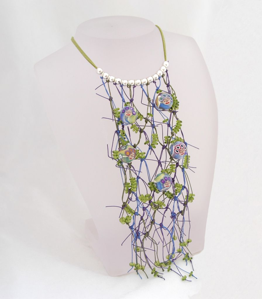 Featuring beads by Emma Ralph.