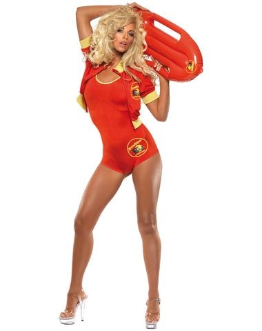 4a0de090fdb0 Baywatch Lifeguard Suit Adult Women s Costume Item 07096688  59.99 ...