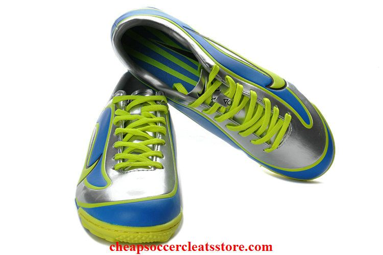 save off 94b40 4059a Nike Mercurial Vapor XV Limited Edition 1998 TF Limited Edition 1998  Mercurial 2013 For Cheap Silver Blue Green Soccer Cleats