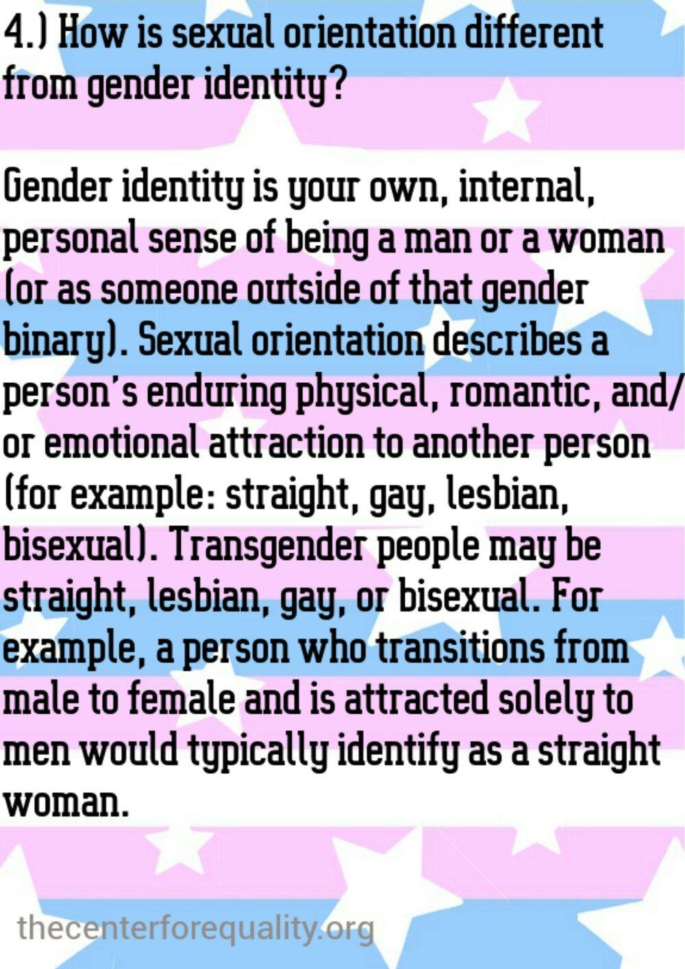Different sexual orientation