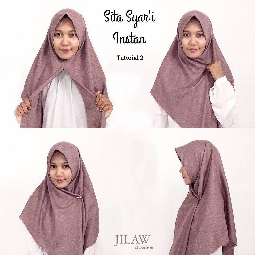 Alhamdulillah Pertamanya Hijab Segitiga Syar I Instan Hanya Di