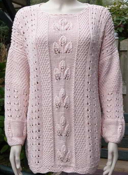Lace-Knit-Sweater-Pattern-For-Women.jpg (502×685)