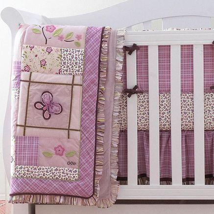 Cocalo Sugar Plum 4 Piece Crib Bedding Set Baby Staffs Crib